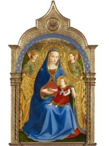 La Virgen de la granada de Fray Angélico