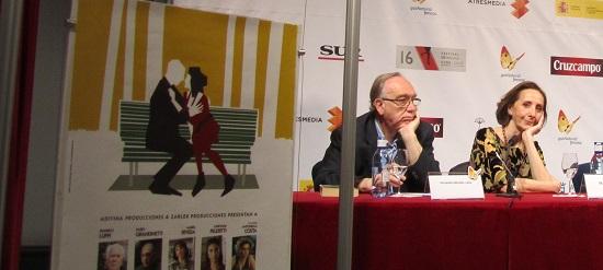Mabel Rivera nos regala una mirada en la rueda de prensa de 'Inevitable' @Alejandro Contreras