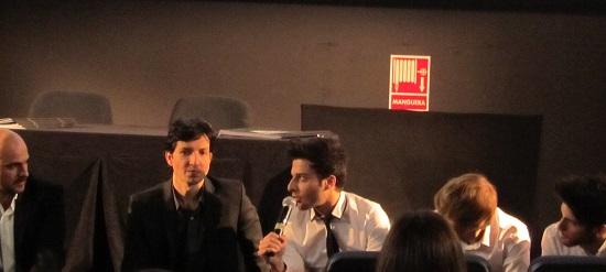 Auryn con más protagonismo los actores de 'Viral' en el pase de prensa @Alejandro Contreras