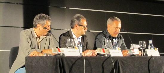 Joaquín Oristrell, Juan Antonio Vigar y David Muñoz @Alejandro Contreras