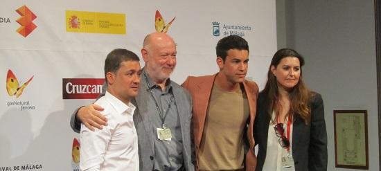 Secún de la Rosa, Juan Eslava Galán, Mario Casas y Alejandra Frade @Alejandro Contreras