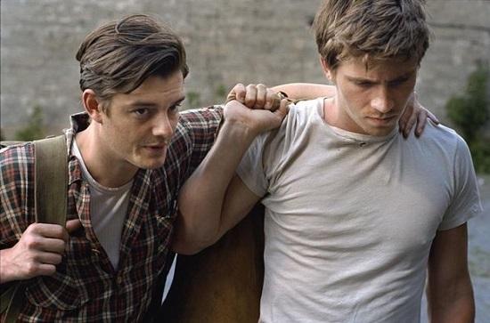 Garrett Hedlund, Sam Riley, cuando eran compañeros En la carretera