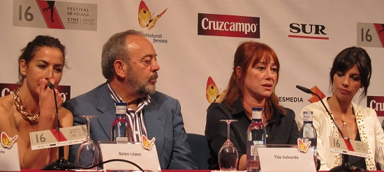 Belén López, Tito Valverde, Gracia Querejeta y Maribel Verdú de '15 años y un día' @Alejandro Contreras