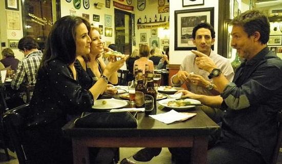 Julieta Díaz, Carla Peterson, Juan Minujín y Adrián Suar  en Dos más dos