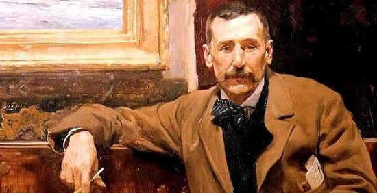 Retrato de Benito Pérez Galdós de Sorolla