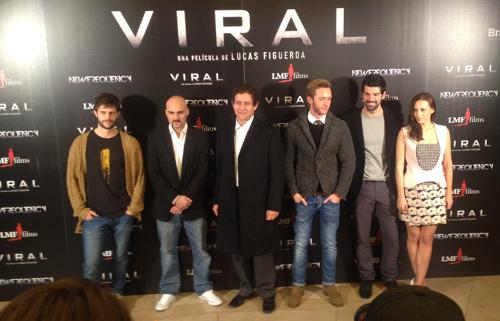 Juan Blanco,Lucas Figueroa,Pedro Casablanc,Pablo Rivero,Miguel Ángel Muñoz yAura Garrido