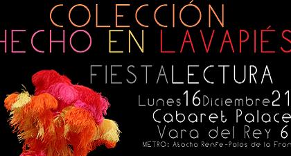 Fiesta-Lectura colección Hecho en Lavapiés