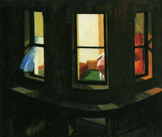Edward Hopper, Night Windows, 1938