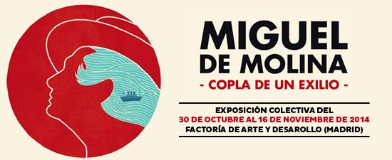 Exposición Miguel de Molina: Copla de un exilio