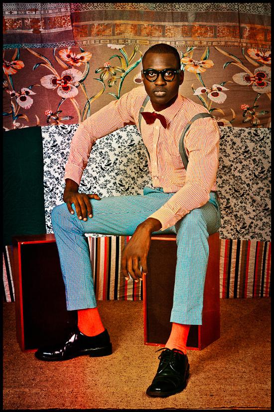 Thierno Ndiaye - Modelo, diseñador de moda y actor