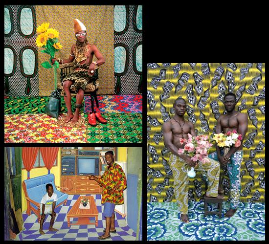 1. Fotografía de Samuel Fosso | 2. Fotografía de Philip Kwame Apagya | 3. Fotografía de Leonce Raphael Agbodjelou
