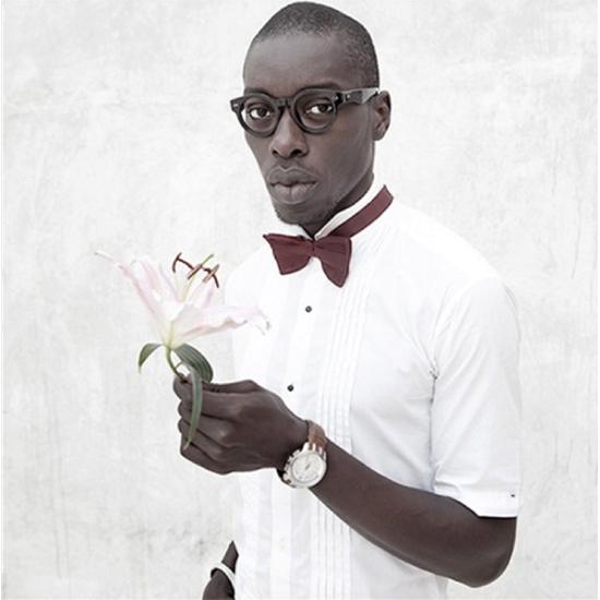 Retrato de Omar Victor Diop