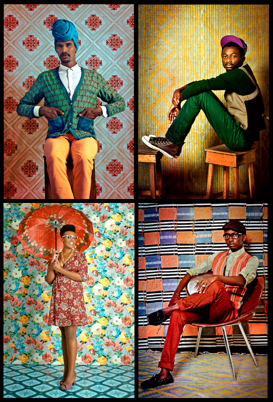 1. Joel Adama Gueye - cantante, compositor y modelo | 2. Manden l'original - Bloguero | 3. Ken Aïcha Sy - Bloguera, propietaria sello discográfico | 4. Milo - Diseñador de moda