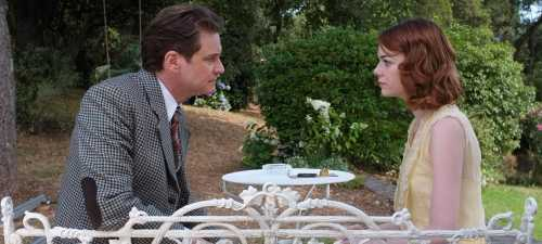 Colin Firth y Emma Stone en 'Magia a la luz de La Luna