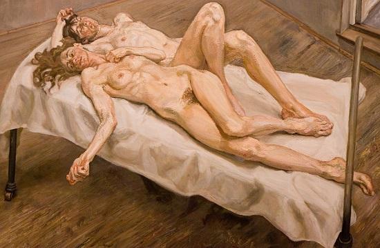Sara, la protagonista femenina, tiene sobre su cuerpo una percepción próxima a la del pintor Lucien Freud