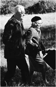 Wallace y Mary Stegner, por Leo Holub