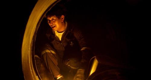 La enrarecida atmósfera de 'Dead Slow Ahead' es lo más destacable del filme