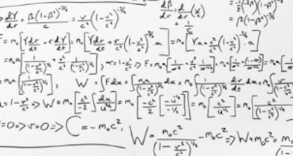 La ecuación de matemáticas