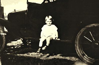 Marilyn Monroe, en el fondo nunca dejó de ser la niña que aparece en la imagen.