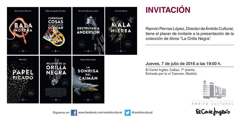 INVITACIÓN MADRID