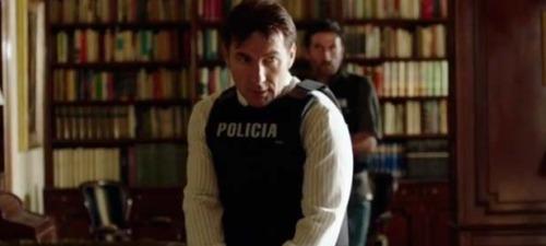 Antonio de la Torre da vida a un policía tartamudo y con serios problemas de relación con el sexo opuesto en Que Dios nos perdone