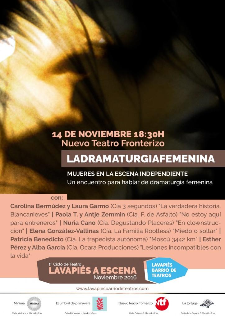 La dramaturgia femenina