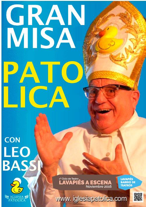 Misa patólica. Leo Bassi