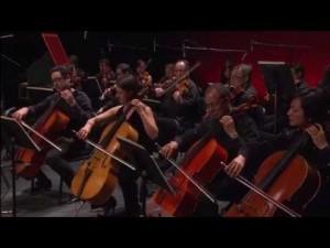 La joven orquesta de cámara del Conservatori.