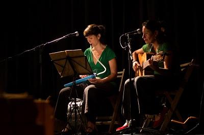 Inma Claudio y Ana Cuenca Ramón