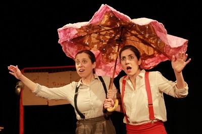En la imagen Marta Cuenca y Esther Ramos