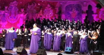 THE BLACK HERITAGE CHOIR en Barcelona.
