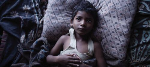 Sunny Pawar interpreta al protagonista de Lion en su niñez