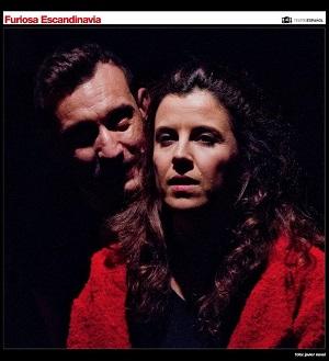 En la imagen los actores David Fernández 'Fabu' y Sandra Arpa. Foto de Javier Naval