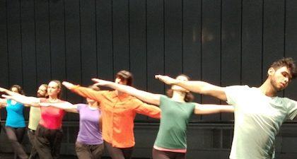 Taller DanceForms en Naves Matadero: azar, arte y movimiento