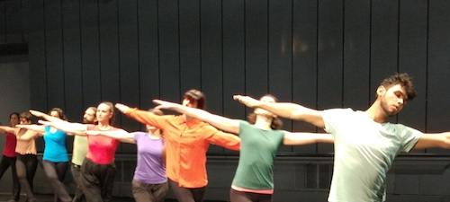 Taller DanceForms en Naves Matadero: azar, arte y movimiento