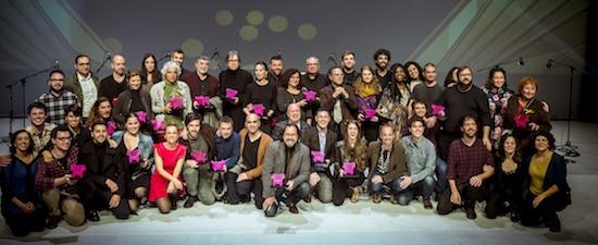 Premis Butaca 2017 del teatro catalán.