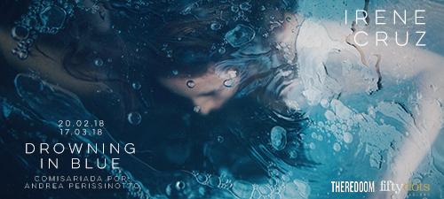 «Drowing in Blue» exposición individual de Irene Cruz en la Galería THEREDOOM