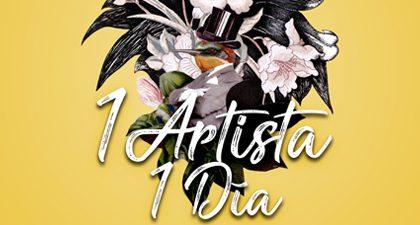 Antonio Ventura Sanz inaugura «1 Artista 1 Día» desde El Retiro