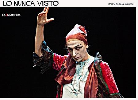 Belén Ponce encarna la quimera del éxito y el fracaso, ambas condiciones no tiene sexo ni condición en Lo nunca visto de José Troncoso.