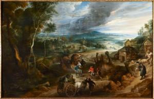 Camino del Mercado de Rubens