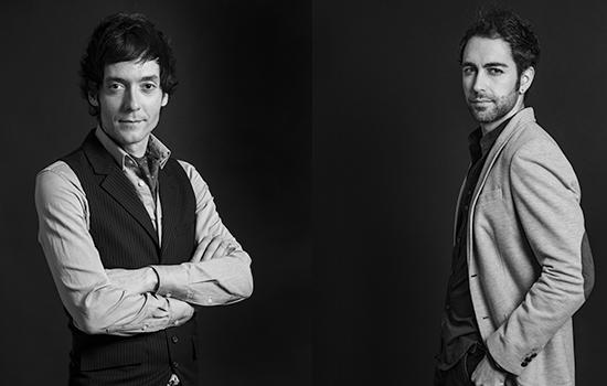 Felipe Andrés y David Tortosa. ©David Elcano Villanueva