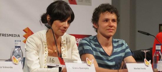 Maribel Verdú y Arón Piper, madre e hijo en '15 años y un día' @Alejandro Contreras