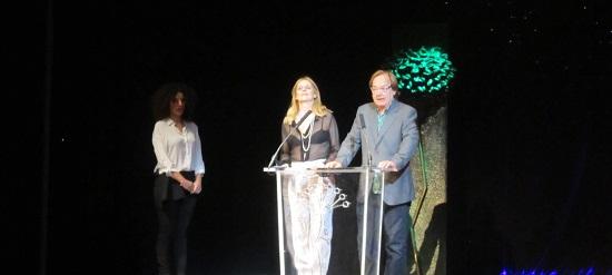 Celia Bermejo con Vicky Peña y Ventura Pons @Alejandro Contreras