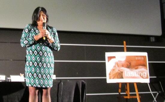 Presentación de 'Indeleble' con su productora Agnieszka Drewno @Alejandro Contreras