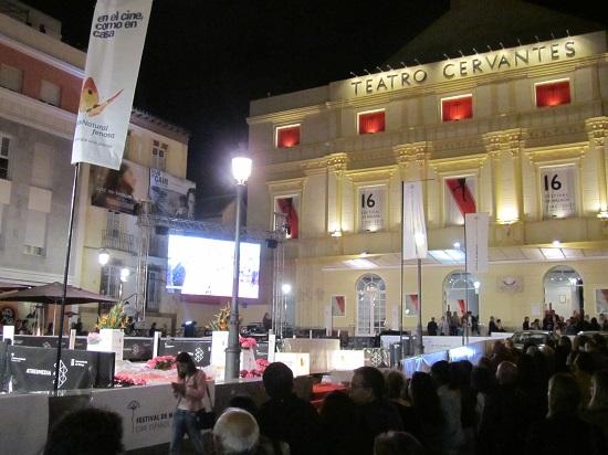 El Teatro Cervantes sede del Festival Málaga 2013 @Alejandro Contreras