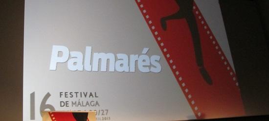 Lectura del palmarés oficial del 16 Festival de Málaga. Cine Español @Alejandro Contreras