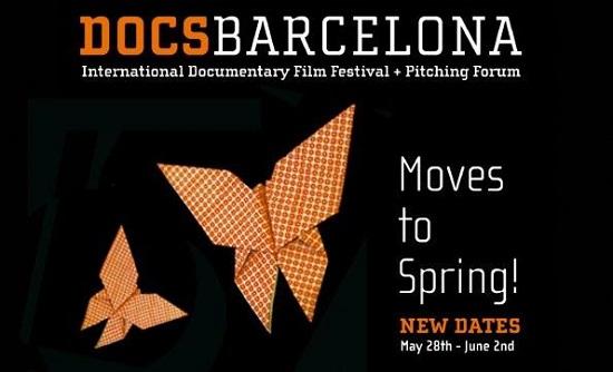Cartel del Primer Docs Barcelona Primaveral