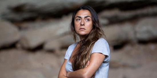 Candela Peña, cuyo papel en Ayer no termina nunca,  parece estar escrito a su medida.