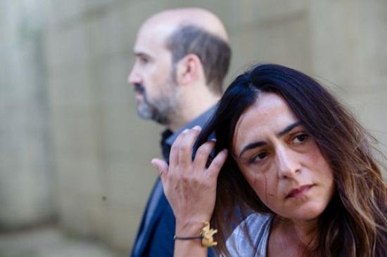 Candela Peña y Javier Cámara en una imagen de Ayer no termina nunca