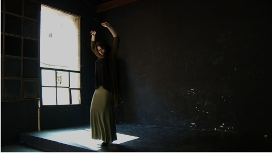Karime Amaya, protagonista de la película Bajarí, la Barcelona gitana de Eva Vila
